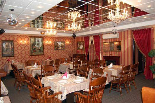 банкетный зал аристократ-кафе Перми