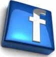 Маленький логотип facebook