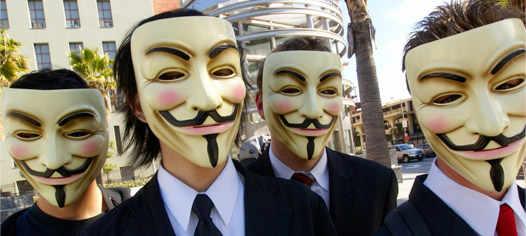 группа Anonymous