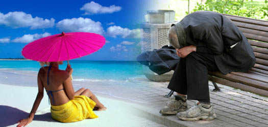 бедность и богатсва рядом в мире