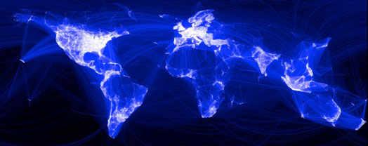 интернет активность в мире пользователями