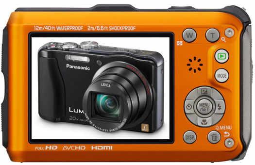 Фотоаппарат Lumix FT4 для активных людей