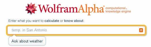 поисковая система Wolfram Alpha