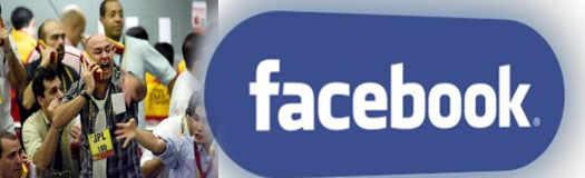 facebook на мировых биржах