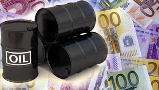 цена на нефть в Евро