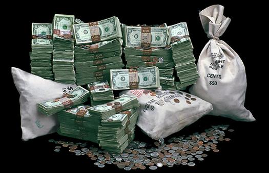 картинка - много денег