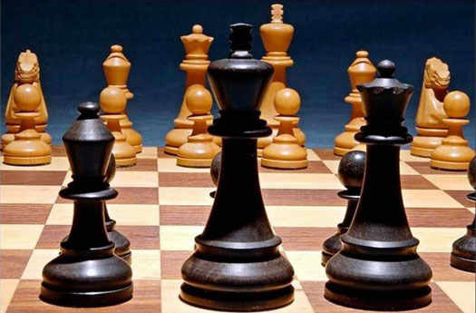 политика на шахматной доске