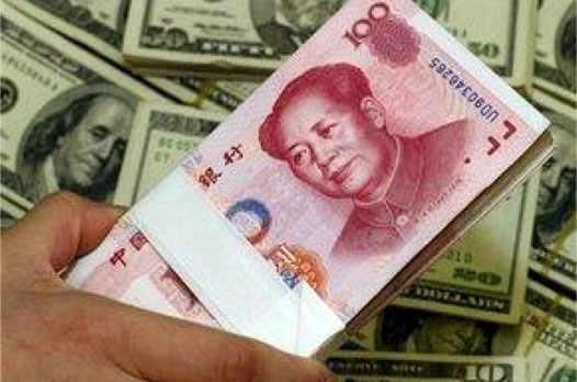 Китайские деньги и американский доллар
