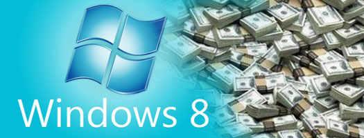 Windows 8 дешевле  чем Windows 7