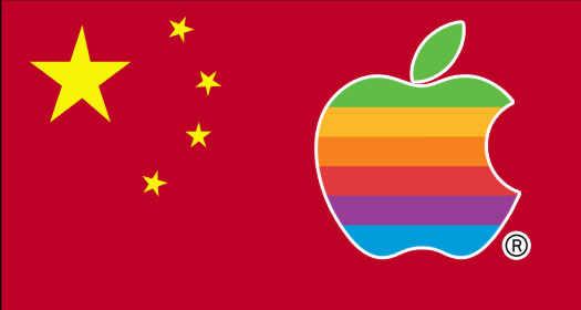 Китай и apple