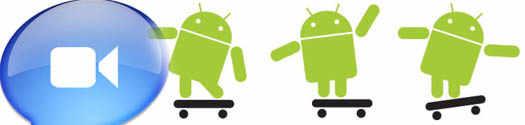 android видео связь