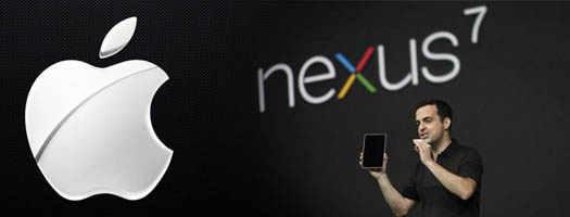 apple и nexus7