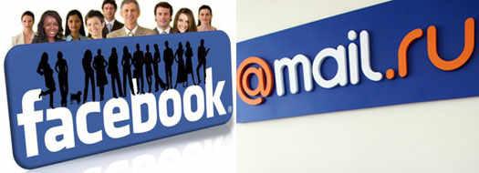 Mail.ru и Facebook