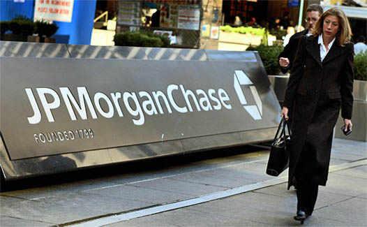 логотип JP Morgan Chase