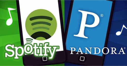 spotify Pandora