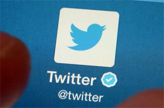 кнопка твиттера