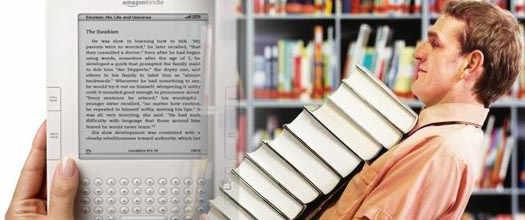 виртуальные книги в билиотеке Amazon