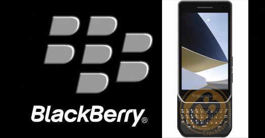 BlackBerry Milan с призентации