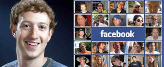 Марк Цукерберг и порльзователи facebook