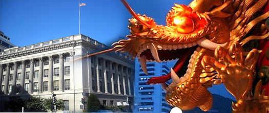 торговая палата США и китайский дракон