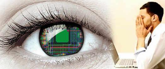 сохрание зрение работая за ПК