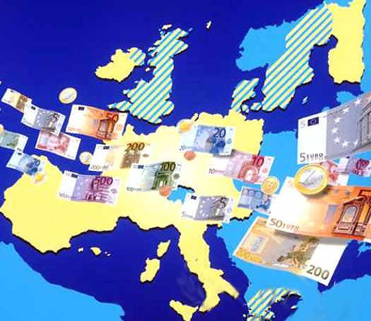 евро зона денег