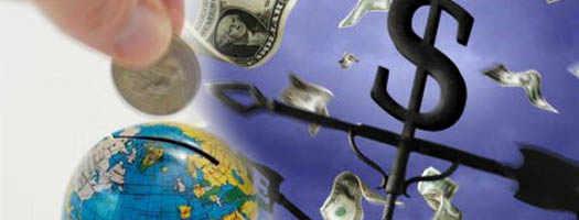 финансовый поток по компасу