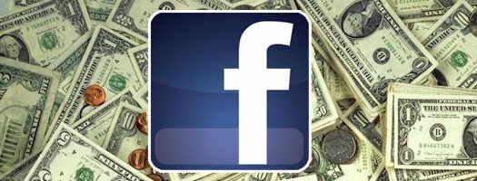 Facebook доллары и инвестиции