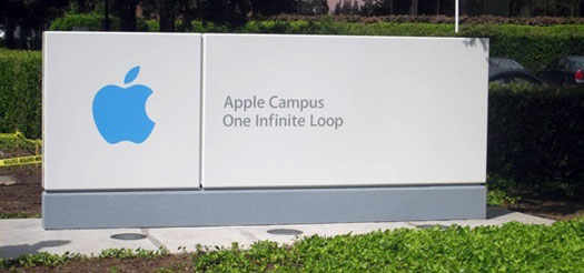 apple статуя