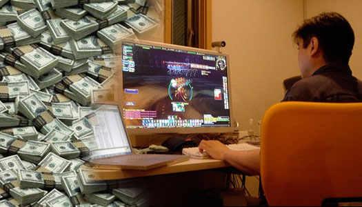 деньги и игры вместе