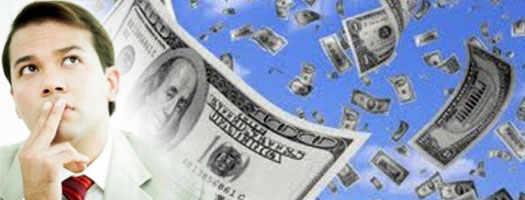 мысли человека о деньгах