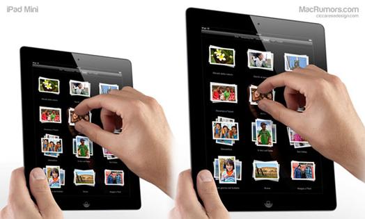 iPad Mini в сравнение