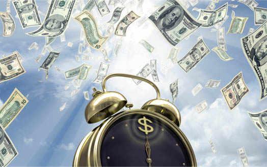 время денег настало
