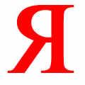 яндекс - буква логотипа