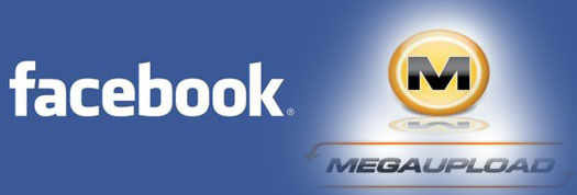 Facebook теперь заменит ресурс Megaupload