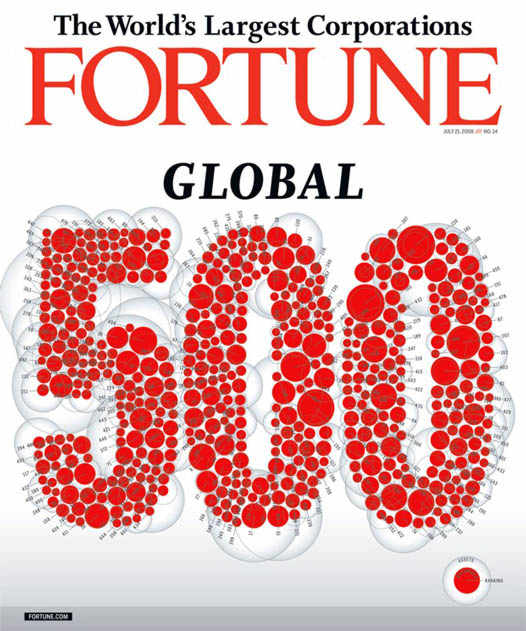 Fortune 500 - обложка журнала