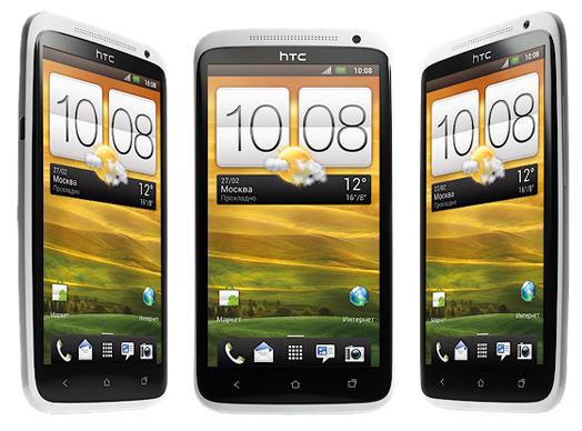 экраны HTC One X