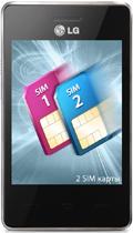 телефон LG T370 поддерживающий 2 SIM-карты