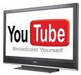 YouTube на плазме