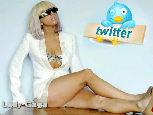 Lady Gaga и Twitter-пользователи