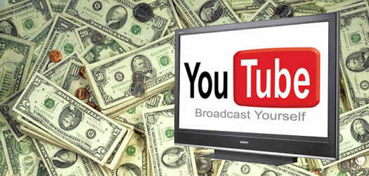 youTube - заработок денег