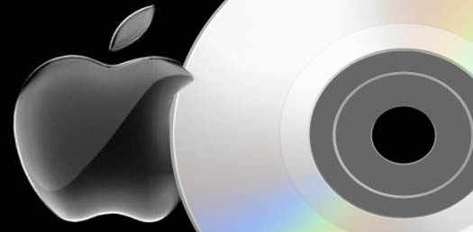 apple dvd система