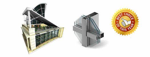 Светопрозрачные конструкции и магазины