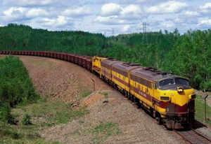 Грузоперевозки поездом