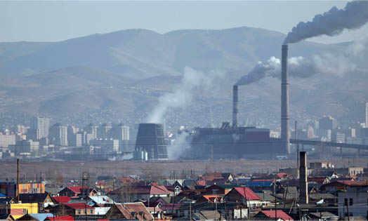добыча угля в городе