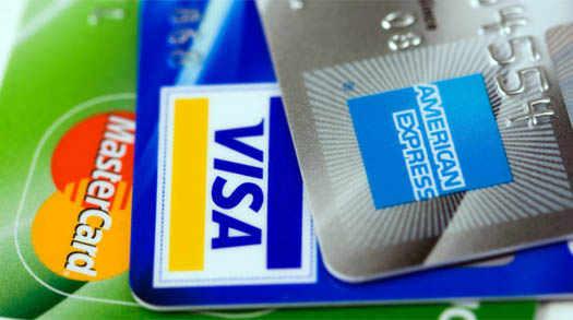 карточки различных банков