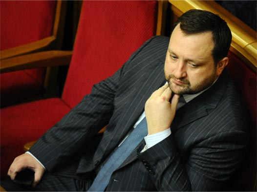 Арбузов в верховной раде Украины