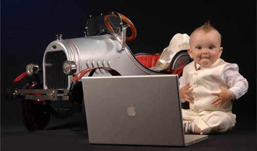 фото ребенок в фотостудии