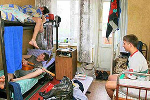 комната в общежитие для студентов