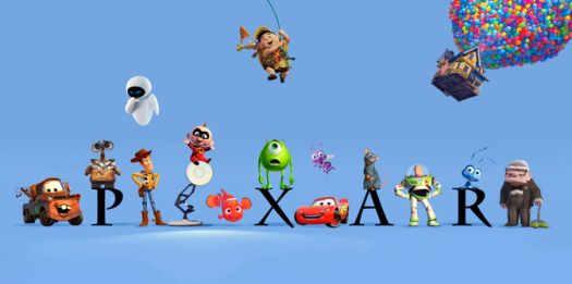 Мультфильмы Pixar